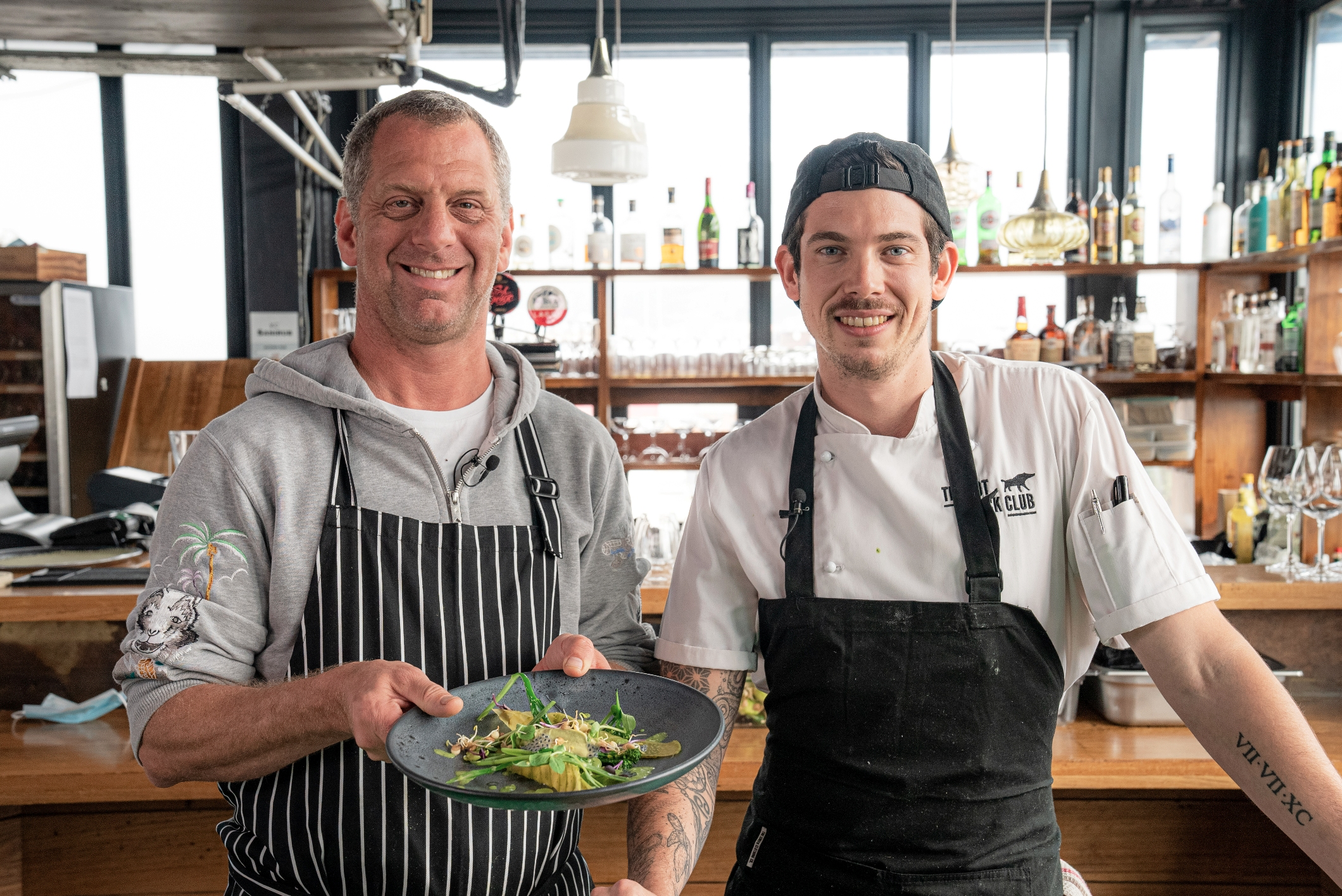 Food visionary Luke Dale Roberts joins Festive Plant Powered Show