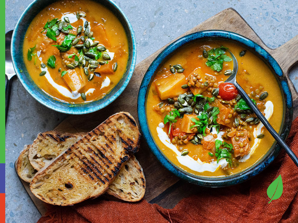 Thai Cauliflower and Chickpea Red Curry