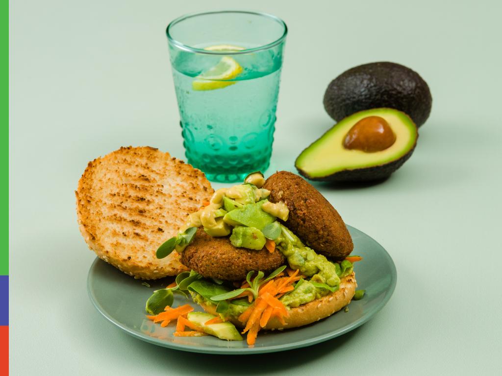 The Ultimate Avocado Veggie Burger
